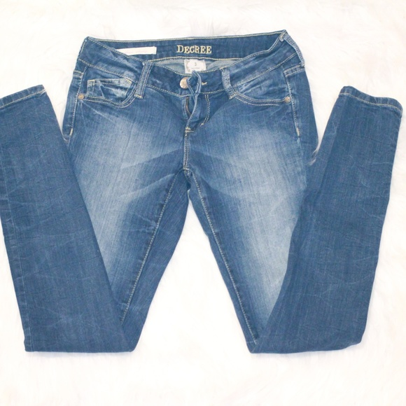 Decree Denim - Decree super skinny jeans